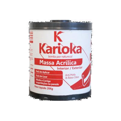 MASSA ACRÍLICA KARIOKA